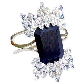 Dior-Avant la chute 2014 Bracelet en bois et cristal-Doré