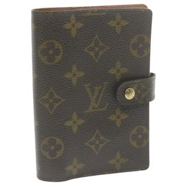 Louis Vuitton-Louis Vuitton Couverture agenda de bureau-Brown