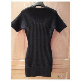 Acne-Dresses-Black