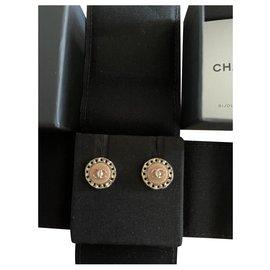 Chanel-Chanel earring-Pink,Golden