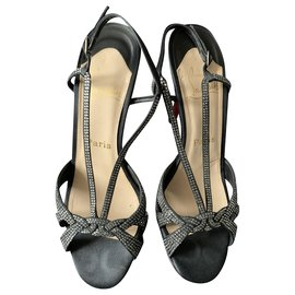 Christian Louboutin-Sandals-Black
