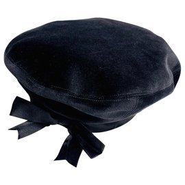 Chanel-Chanel beret-Black