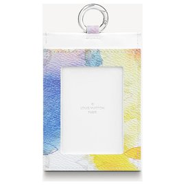 Louis Vuitton-LV watercolor card holder on strap-Multiple colors