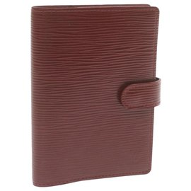 Louis Vuitton-Louis Vuitton Agenda Cover-Red