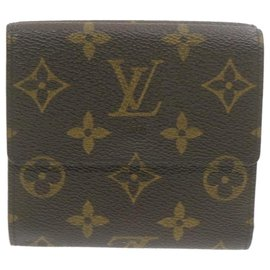 Louis Vuitton-Louis Vuitton Portefeuille Elise-Brown