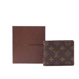 Louis Vuitton-Louis Vuitton Monogram Bifold Classic Wallet-Brown