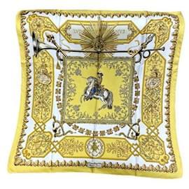 "Hermès-Colecionador Square Hermès ""Ludovicus magnus Magnus"" por F. de la Perrière-Amarelo"