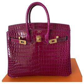 Hermès-Birkin 25-Pink
