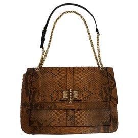 Christian Louboutin-Sweet charity large bag-Brown