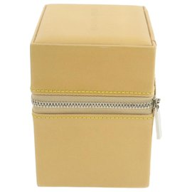 Louis Vuitton-Louis Vuitton Jewelry case-Beige