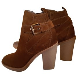 Louis Vuitton-Ankle Boots-Brown