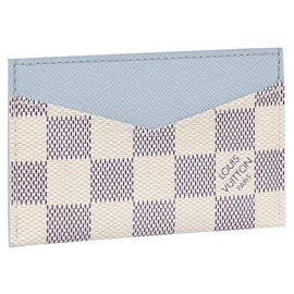 Louis Vuitton-LV Daily card holder blue-Other