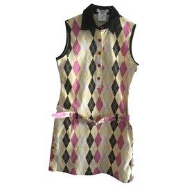 Dior-Robes-Multicolore