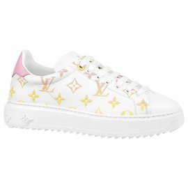 Louis Vuitton-LV Time Out trainers-White