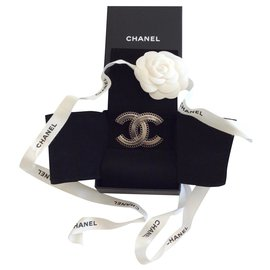 Chanel-Pins & brooches-Silver hardware