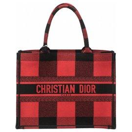 Dior-Cabas livre Dior L-Noir,Rouge