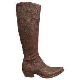 Free Lance-Boots-Dark brown
