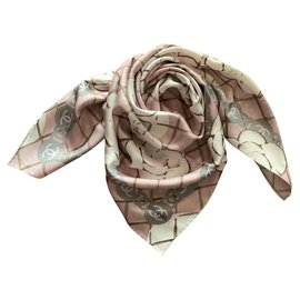 Chanel-Chanel scarf-Pink