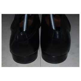 Dior-DIOR LACE-UP LEATHER SHOES-Black