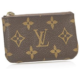 Louis Vuitton-Louis Vuitton Brown Monogram Coin Pouch-Brown