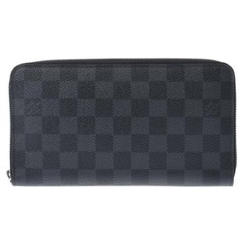 Louis Vuitton-Louis Vuitton Zippy Organizer-Grey