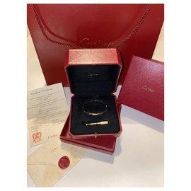 Cartier-Bracelet Love-Jaune