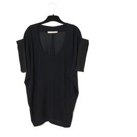 Balenciaga-BLACK PIQUE BUTTERFLY FR34/38-Black