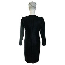 Yves Saint Laurent-Dresses-Black
