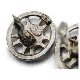 Chanel-Earrings-Silvery