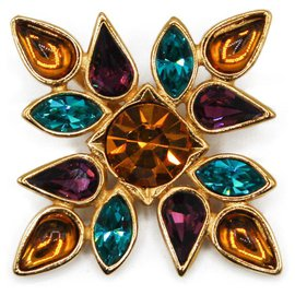 Yves Saint Laurent-Pins & brooches-Gold hardware