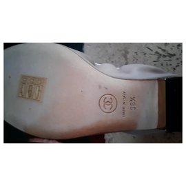 Chanel-Ballet flats-Beige