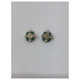 Chanel-Chanel earring-Gold hardware