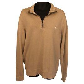 Burberry-Sweaters-Beige