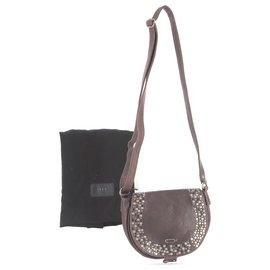 Ikks-Handbag-Dark red
