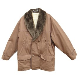 Autre Marque-vintage canadian jacket new condition, Size XL-Brown
