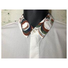 Dries Van Noten-Shirts-White