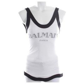 Balmain-Tops-White