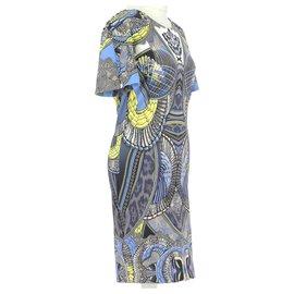 Just Cavalli-robe-Blue
