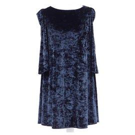 Claudie Pierlot-robe-Navy blue
