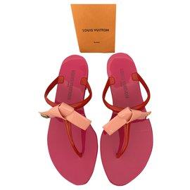Louis Vuitton-Mules-Pink