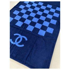 Chanel-Chane beach towel-Blue