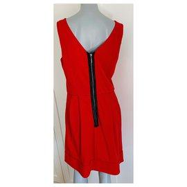 Diane Von Furstenberg-Dresses-Red