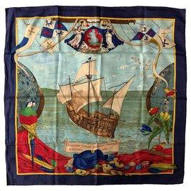 Hermès-Collectible vintage 1992 foulard-Multiple colors