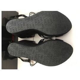 Free Lance-Sandals-Black