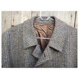 Autre Marque-vintage men's coat 50-Grey