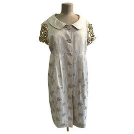 Moschino-Dresses-Eggshell