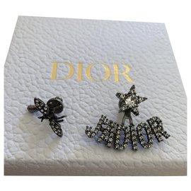 Dior-Boucles d'oreilles J'adior-Bijouterie argentée