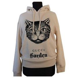 Gucci-Gucci Garden Hoodie-White