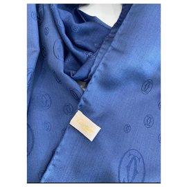 Cartier-Stole cartier-Light blue