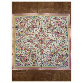 Louis Vuitton-Silk scarf-Multiple colors
